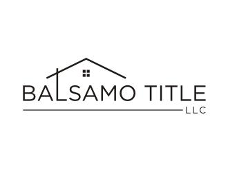 Balsamo Title, LLC logo design by Franky.