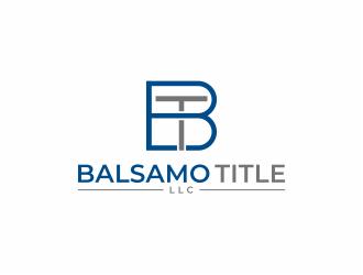 Balsamo Title, LLC logo design by mutafailan