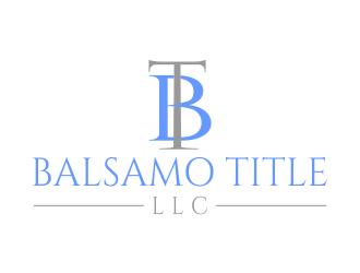 Balsamo Title, LLC logo design by MUNAROH