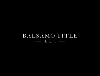 Balsamo Title, LLC logo design by diki