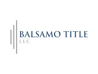 Balsamo Title, LLC logo design by Rizqy