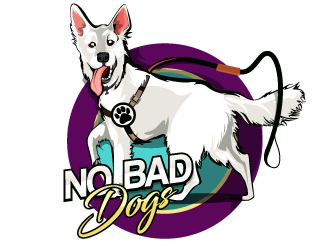 No Bad Dogs logo design