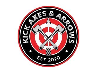 Axes & Arrows logo design
