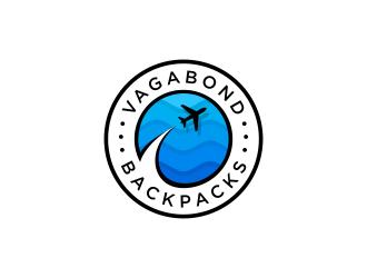 Vagabond Backpacks logo design