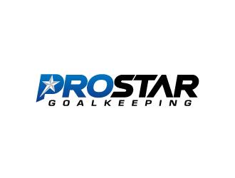Prostar Goalkeeping logo design