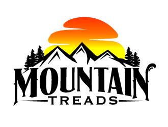 Mountain Treads logo design
