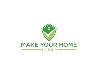 Make Your Home Safer logo design by luckyprasetyo