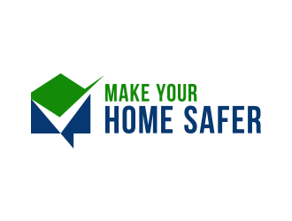 Make Your Home Safer logo design by lexipej