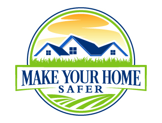 Make Your Home Safer Logo Design