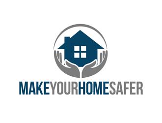 Make Your Home Safer logo design by kunejo