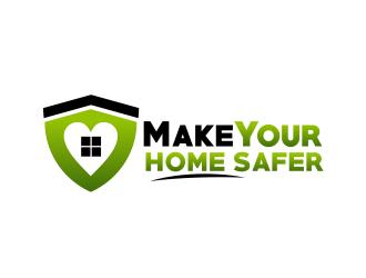 Make Your Home Safer logo design by serprimero