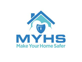 Make Your Home Safer logo design by M J