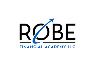 Robe Financial Academy LLC logo design