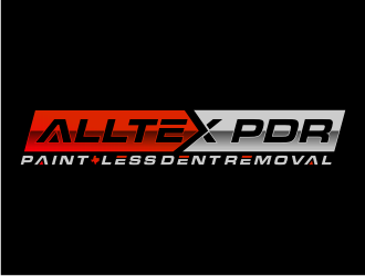 ALLTEX PDR (Paint-less dent removal) logo design