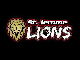St. Jerome Catholic School logo design winner