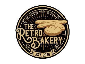 The Retro Bakery logo design
