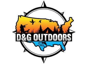 D&G Outdoors logo design