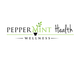 Peppermint Health Functional Medicine logo design