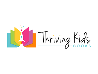 Thriving Kids Books Logo Design