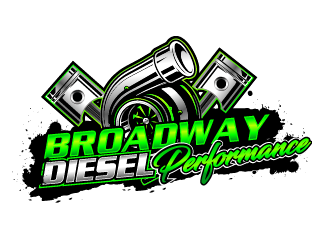 Broadway Diesel Performance logo design