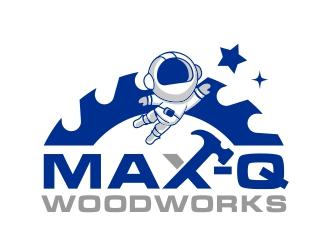 Max-Q Woodworks logo design winner