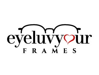 eyeluvyourframes logo design