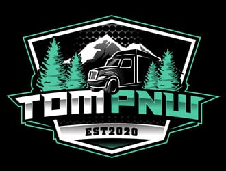 TOM PNW logo design by DreamLogoDesign