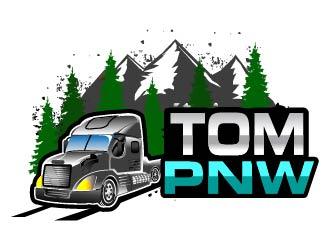TOM PNW logo design by Suvendu