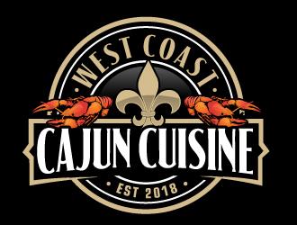 West Coast Cajun Cuisine logo design winner