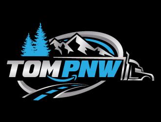 TOM PNW logo design