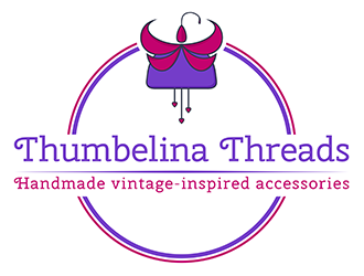 Thumbelina Threads Logo Design