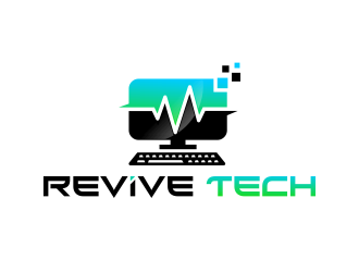 Revive Technologies (Revive Tech) logo design