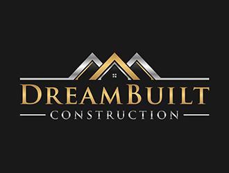 DreamBuilt Construction logo design