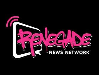 RENEGADE NEWS NETWORK  logo design