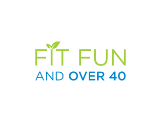 Fit Fun and Over 40 logo design