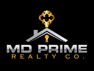 MD Prime Realty Co. logo design