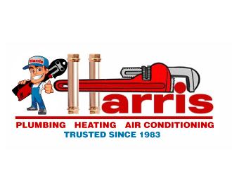 Harris Plumbing, Heating & AC, Inc. logo design winner