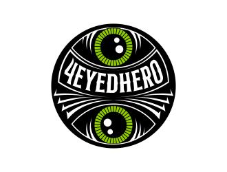 4EyedHero logo design
