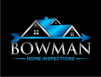 Bowman Home Inspections logo design