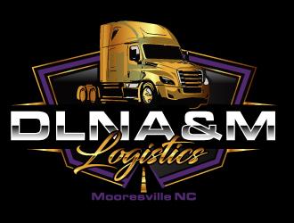 DLNA&M LOGISTICS  logo design winner