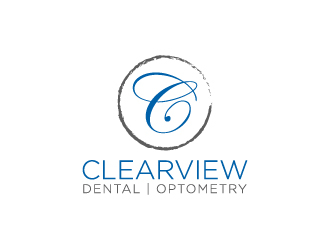 Clearview Dental and Optometry logo design