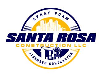Santa Rosa Construction LLC logo design