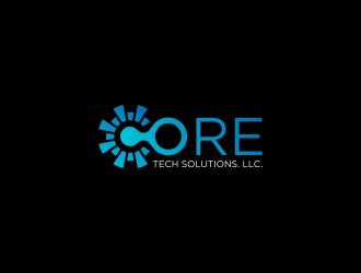 Core-Tech Solutions. LLC logo design winner