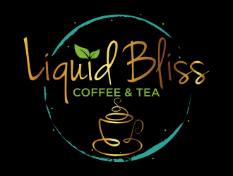 Liquid Bliss Coffee & Tea logo design