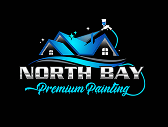 North Bay Premium Painting logo design