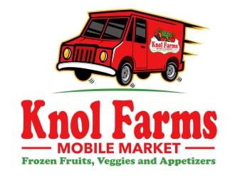 Knol Farms Limited logo design