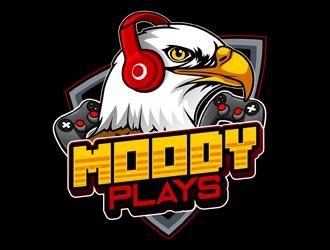 Moody Plays logo design