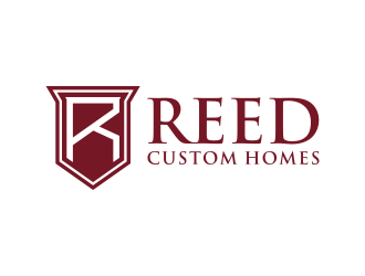 Reed Custom Homes logo design