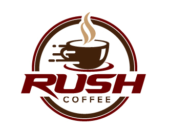 Rush Coffee logo design by jaize