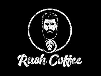Rush Coffee logo design by Cekot_Art